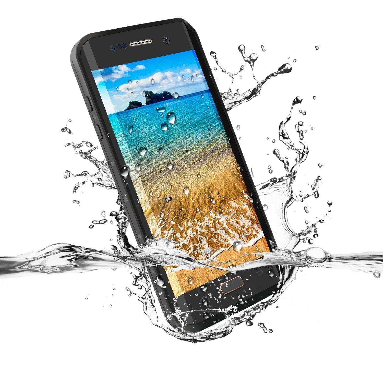 imágenes para Borde Borde de La Contraportada Funda Impermeable para Samsung S7 S7 360 Borde lleno Proteger Galaxy Funda para Samsung S7 S7 Teléfono Natación caso