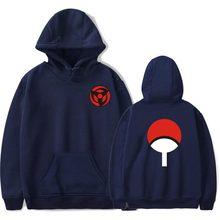 Naruto Hoodies Sweatshirts Uchiha Syaringan Hooded Boys Fashion Hokage Ninjia Men/women Classic Cartoon printed Clothes 4xl