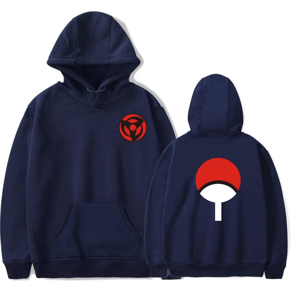 BTS Naruto Hoodies Sweatshirts Uchiha Syaringan Mit Kapuze Jungen - Herrenbekleidung - Foto 5