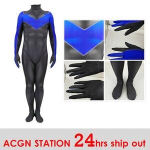 Erwachsene kostüme Nacht flügel Kostüm für Kind und Männer Nacht flügel Cosplay Kostüm 3D Print Halloween Party Bodys Overalls
