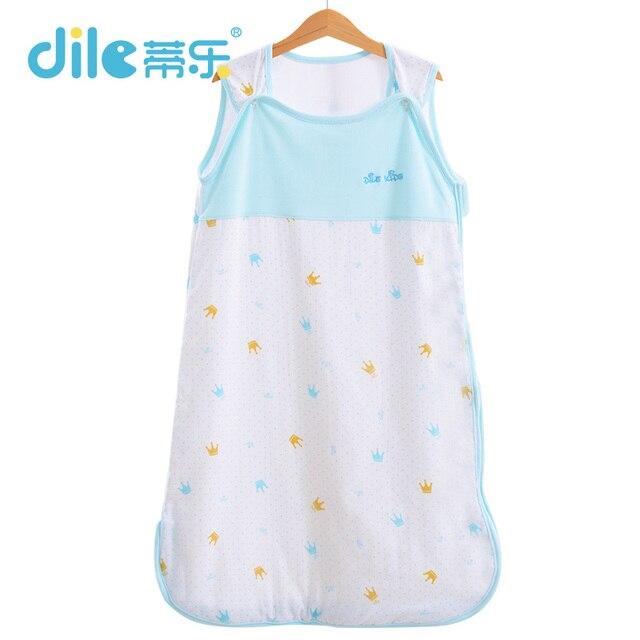 Baby Sleeping Bag For Summer Sleeveless100% Muslin Cotton Vest Sleepsacks bedding infant clothing