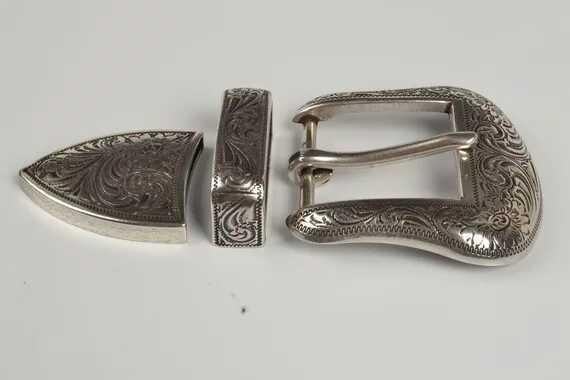 Free Shipping Silver Plated Metal Men Diy Design Belt