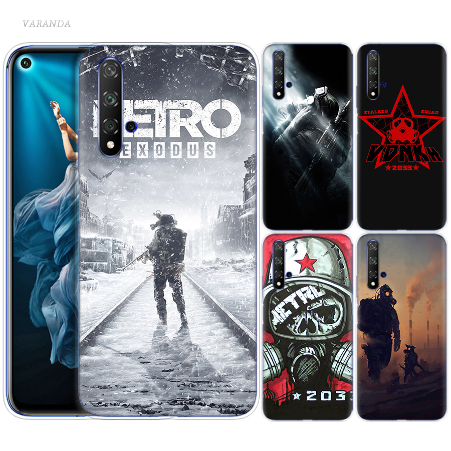 <font><b>Metro</b></font> <font><b>2033</b></font> Case for Huawei <font><b>Honor</b></font> 8X 8C 8 <font><b>9</b></font> 10 20 Play 8A lite Pro V20 Y9 Y7 Y6 Y5 Prime 2018 2019 Silicone Cas Phone Bags Couvre image
