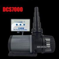1PC HOT SALE DCS 7000 VARIABLE FLOW DC AQUARIUM PUMP MARINE FRESHWATER CONTROLLABLE WATER PUMP DCS7000
