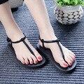 2017 mulheres da moda sandálias de tiras saltos sapatos de plataforma sandálias gladiador das mulheres sapatos de verão sandálias de praia mulher chaussure femme