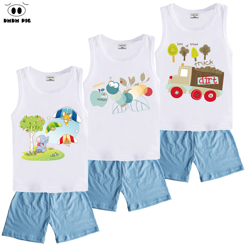 DMDM PIG Christmas Kids Toddler Boys Clothing Sets Costumes Baby Girls Clothes For Boys Children ...