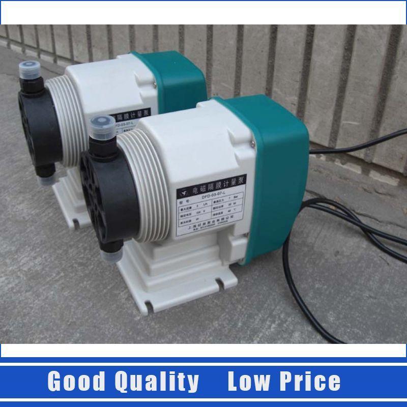 DFD-09-02-L Prtable 9l/H 2Bar Solenoid Diaphragm Metering pump