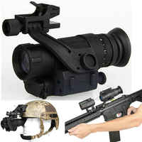 Night Vision Riflescope Monocular Device PVS-14 Night Vision Goggles Digital IR Hunting Trail Telescope for Rifle Scopes  Helmet
