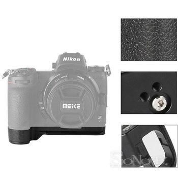 Meike MK-Z7G Aluminum Alloy Vertical Quick Release Plate L Bracket Hand Grip Holder For Niokn Z7 Z6 Camera