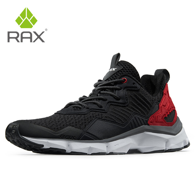 RAX Mens Breathable Running Shoes Trainning Sneakers Outdoor Sports Sneakers For Men Lightweight Athletic Running Shoes Footwear