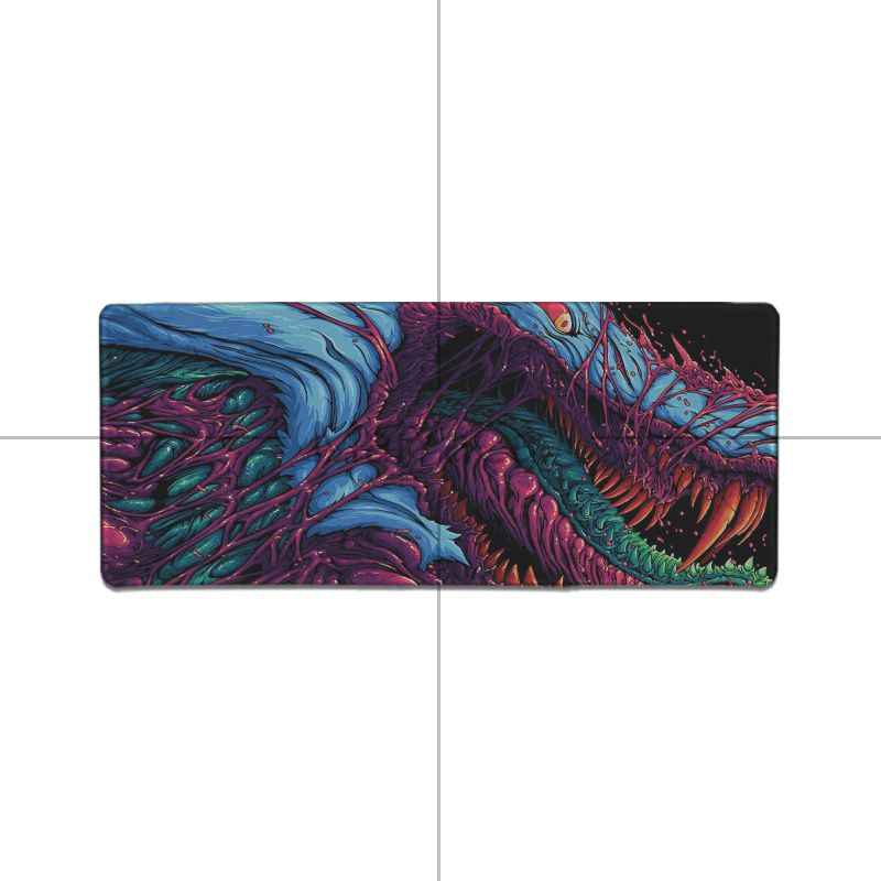 Maiyaca New Design Hyper Beast Wallpaper 4k High Speed New Mousepad Pad To Mouse Notbook Computer Gaming Keyboard Mouse Mats