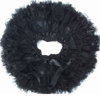 Black Pleated Toddler Girls To Teen Short Tutu Pettiskirts Dancing Or Party Clothing Feel Free Choose