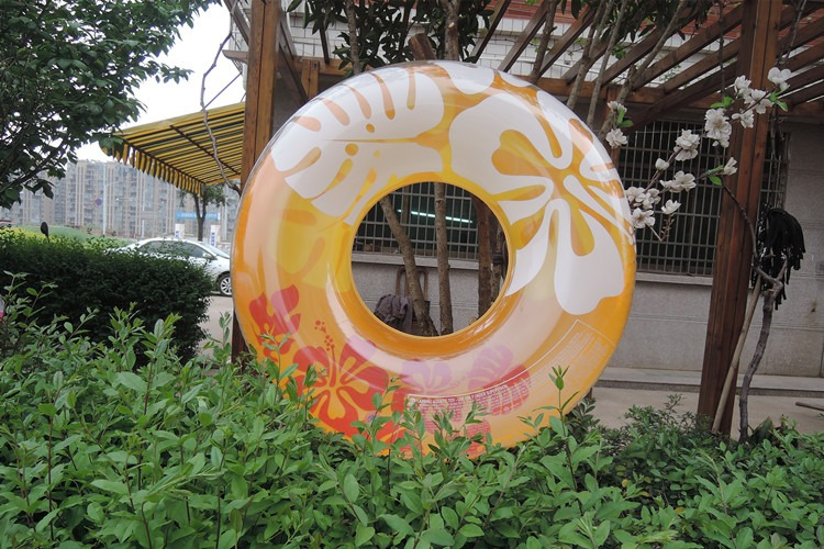 Outdoor Inflatable Kid Toy Water Play Beach Toy Swam Children Float Inflatable Swan Ring Summer Holiday Water Fun Pool Toys