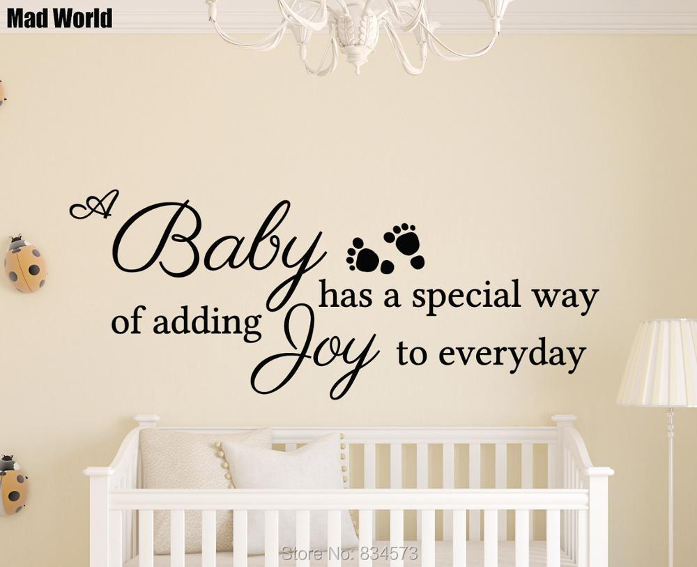 popular joyful quotes buy cheap joyful quotes lots from china mad world baby joy special everyday quote wall art stickers wall decal home diy decoration
