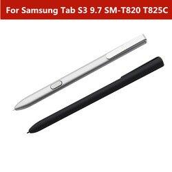 Para samsung s3 t820 t825c preto/sliver stylus tela de toque capacitivo caneta para samsung galaxy tab s3 9.7 SM-T820 t825c s caneta