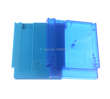For NES Hard Case 60Pin To 72Pin Adapter For Nintendo NES Game Card Cartridge Housing Shell with screws