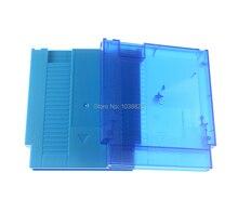 עבור NES קשה מקרה 60Pin כדי 72Pin מתאם עבור נינטנדו NES משחק כרטיס מחסנית שיכון מעטפת עם ברגים