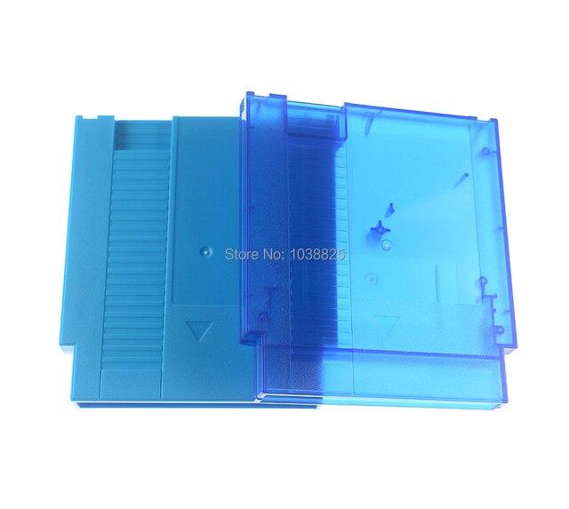 Nes ハードケースに 60Pin 72Pin 任天堂ファミコンゲームカードカートリッジハウジングシェルネジで