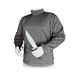 Ножевой Топы против пореза рабочие одежда прочность на разрыв 5 уровень Cut предупреждения безопасности одежда износостойкие безопасности з...