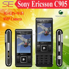C905 Original Unlocked Sony Ericsson C905 8MP 3G WIFI Bluetooth Support Russian Keyboard Mobile Phone Free shipping