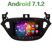 "8"" Android 7.1 Quad Core 2GB RAM 4G WiFi SWC BT Audio Car Multimedia DVD Player Radio Stereo GPS Screen For Opel Corsa 2015-17"