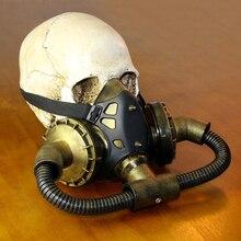 Retro Gas Mask Unisex Steampunk Cosplay Halloween Punk Masquerade
