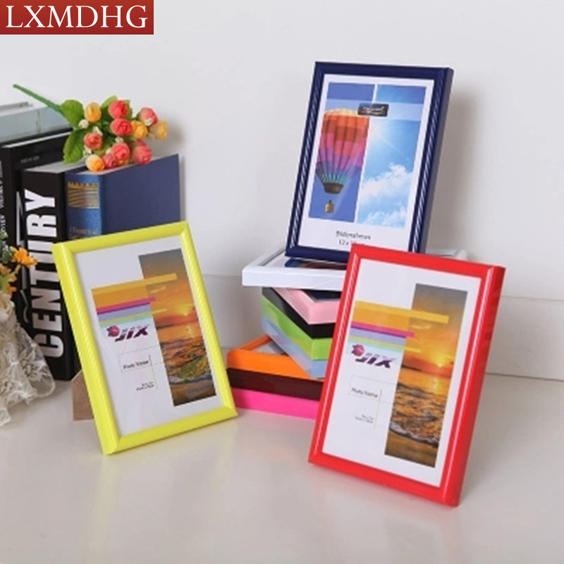 Plastic Photo Frame For Photo Picture Frames Home Decor