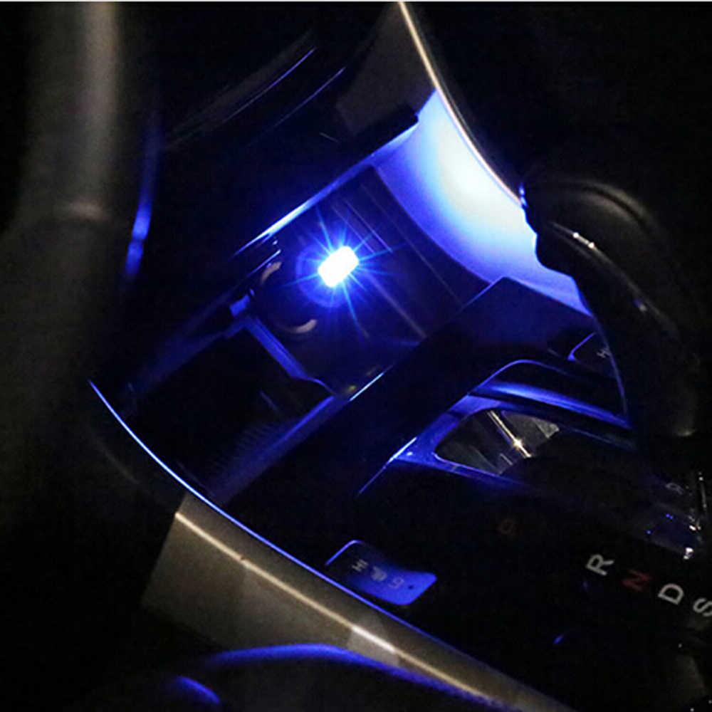 Coche Universal USB LED luz decorativa piezas de automóviles para toyota corolla hyundai creta lada priora skoda Octavia citroen c4 kia ix25