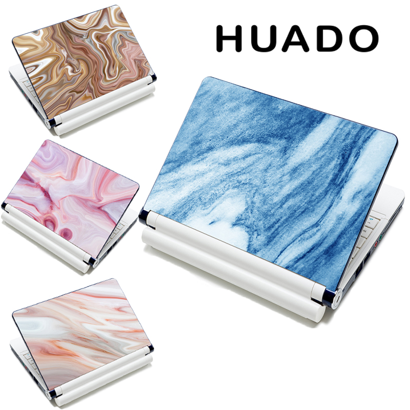 New Marble Laptop Skin 10 13 13.3 15 15.4 15.6 17 17.3 Universal Laptop Skin Cover Aufkleber für HP / Acer / Dell / ASUS / Sony