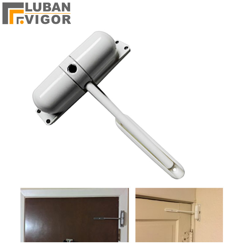 где купить Best-selling in United States High quality home light spring rail door closer,Easy to install, Door Hardware дешево