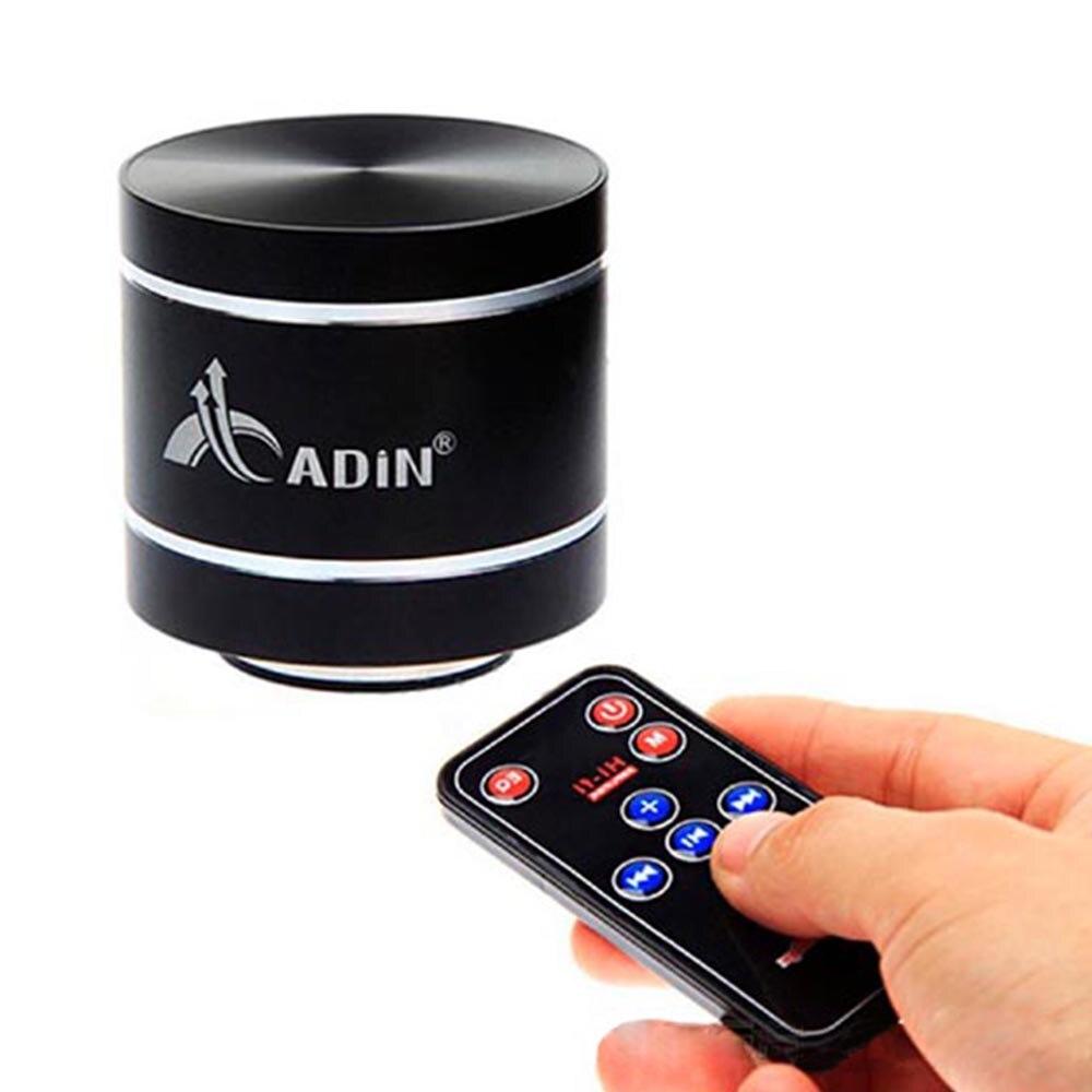 MINI Speaker Adin Dwarf Omni Directional Audio Rechargeable USB Vibration Speaker Remote Control