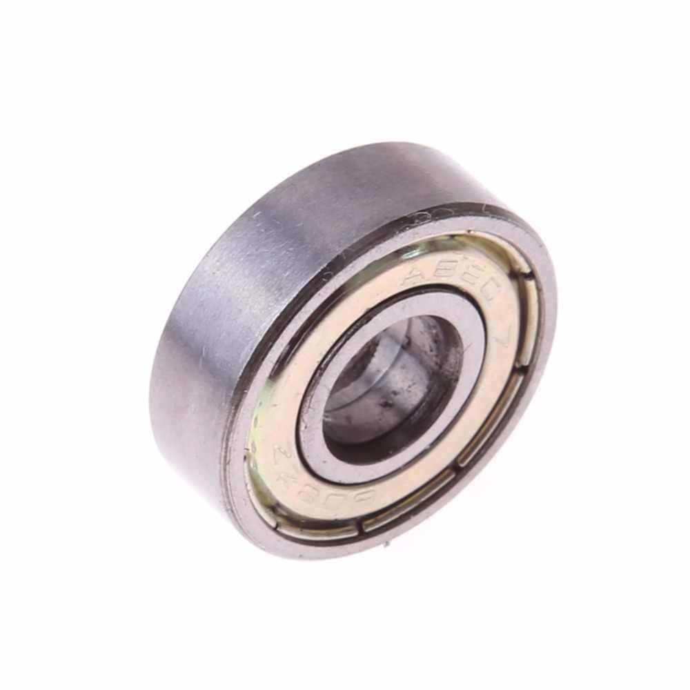 10 Pcs Skateboard Scooter Ball Roller Double Groove Deep Skate Bearing Roda Scooter Parts & Accessories