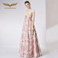 Coniefox 32088 без бретелек Цветок Vestidos De Festa Vestido Longo; Para Casamento Zuhair Murad пикантные Длинные вечерние платья платье