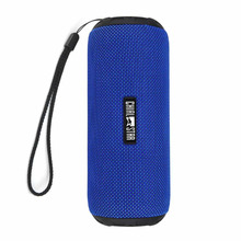 Chialstar Outdoor Portable Bluetooth Speaker V 4.1 Waterproof IPX6 Blue Fabric Wireless Sports Music Player