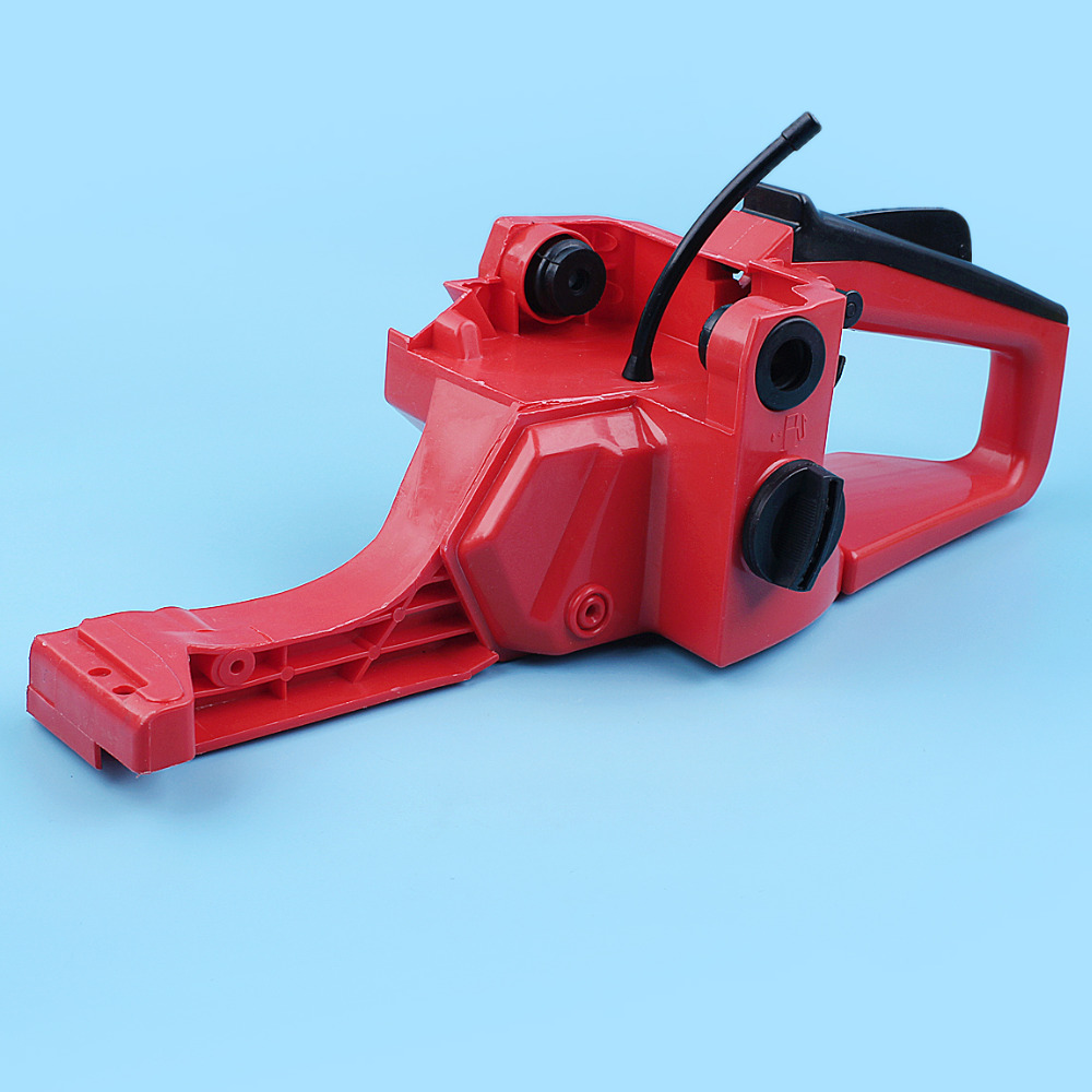 Gas Fuel Tank Rear Handle Assembly For Chinese Chainsaw 4500 5200 5800 42cc 52cc 58cc Replacement Spare Part