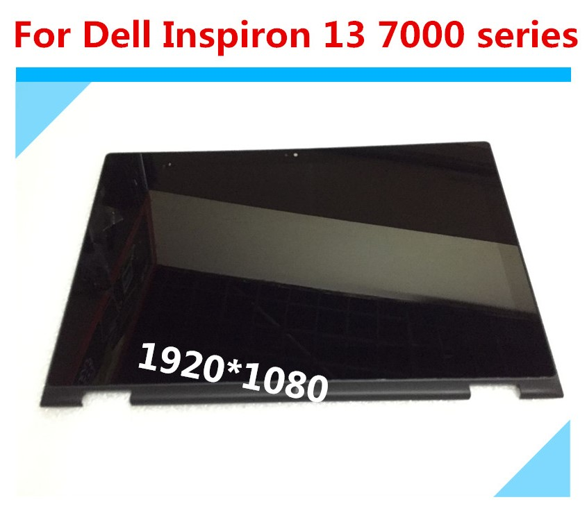 For Dell Inspiron 13 7000 series 7347 7348 7359 P57G LCD Display Screen Touch Glass Digitizer Assembly Panel LTN133HL06-201 цена