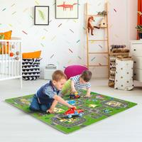 EVA Soft Puzzle Foam Mat Kids Children Baby Playing Crawling Game Pad Multicolor