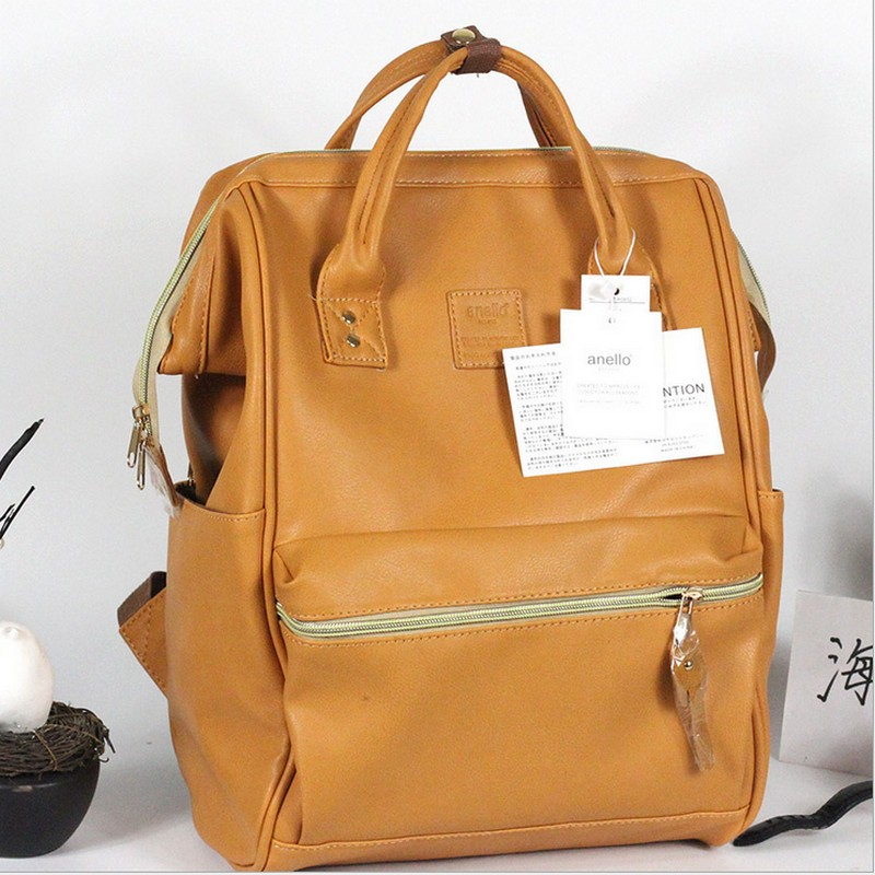 Leather Ring Backpack School Bags For Teenagers Male Anello Backpack Sac A Dos Women Mochila Zaino Rucksack or travel bag dida bear brand women pu leather backpacks female school bags for girls teenagers small backpack rucksack mochilas sac a dos