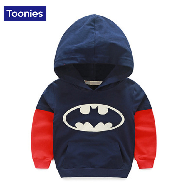 Free Shipping 2016 Autumn Sweatshirts for Boys Fashion Long Sleeve Hoodies Cotton Fashion Hoody Girls Outwear Pullovers Hot Sale
