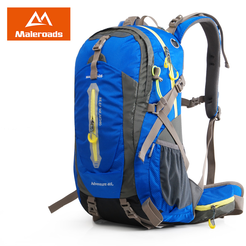 Aliexpress.com : Buy Maleroads 50L 40L Waterproof Travel Backpack ...