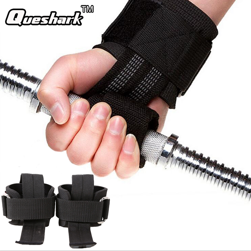 Weight Lifting Wrist Straps Gym Barbell Dumbbell Hand Grips Gloves Power Training Bodybuilding Wrist Support Straps Fitness Belt