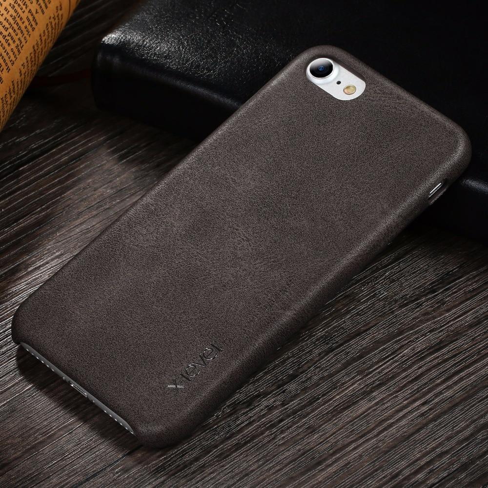 Ρετρό θήκη X-Level για iPhone 7 8 Πολυτελές - Ανταλλακτικά και αξεσουάρ κινητών τηλεφώνων - Φωτογραφία 4