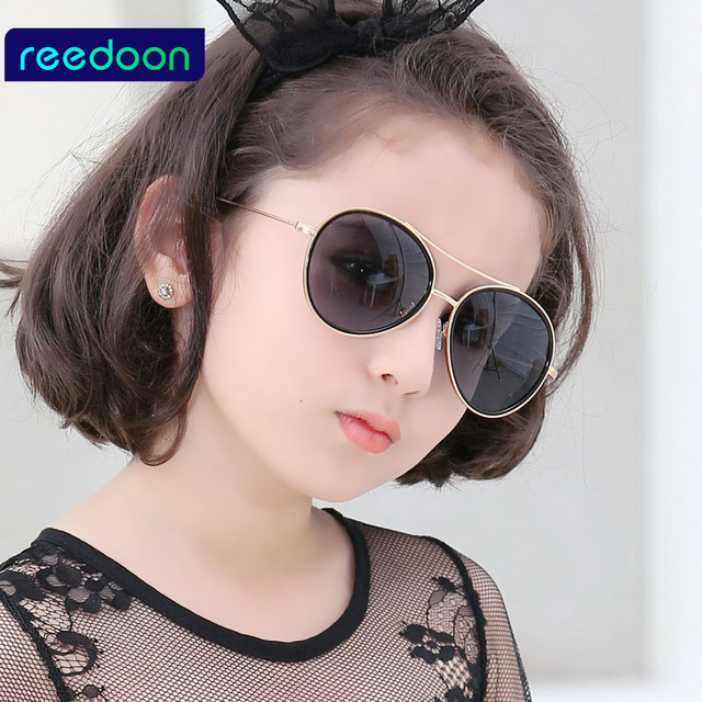 309f387cb89 2016 New Fashion Children Sunglasses Boys Girls Kids Baby Child Sun Glasses  Goggles UV400 mirror glasses
