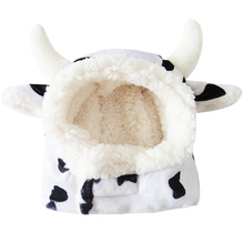Cute Cow Design Pet Dog Cat Hat Free Shipping Small Puppy Supplies