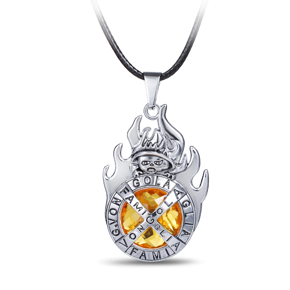 Foreign Trading Movie jewelry hot Anime HITMAN REBORN katekyo series Alloy necklace fashion jewelry katekyo pendant image