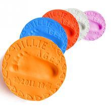 Родитель-ребенок глина handprint отпечаток воздушной след сушки литья отпечатков чернил care