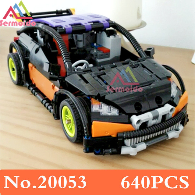 20053 Genuine New Technic Series The Hatchback Type R Set MOC-6604 Building Blocks Bricks Educational Toys Boy Gifts B215 lepin 20053 genuine new technic series the hatchback type r set moc 6604 building blocks bricks educational toys boy gifts model