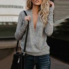 damen pullover Kreuzmuster mixed