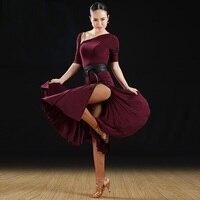 Latin Dance Dress Latin Salsa Dress Women Dance Wear Latin Competition Dress Samba Dance Costumes Latin