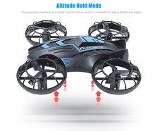 JXD515V Mini Hélice Arriba y Abajo toda la protección 2.4 GHz UFO Raido RC Quadcopter Drone con Cámara HD Dron Embroma el Regalo control